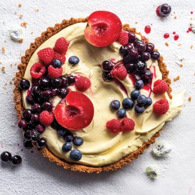 Watch: no-bake cheesecake