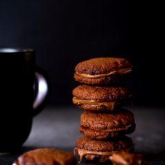 3 ingredient Nutella Sandwich Cookies