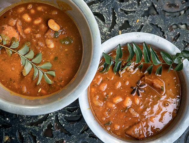 Bean curry recipe