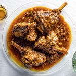 lamb shanks with chakalaka recipe
