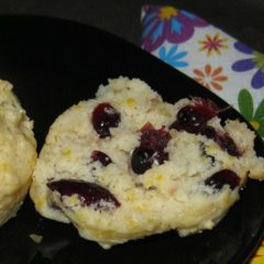 Cranberry and Orange Zest Scones