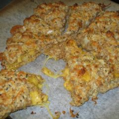 Nutty Wheat Cheese Scone