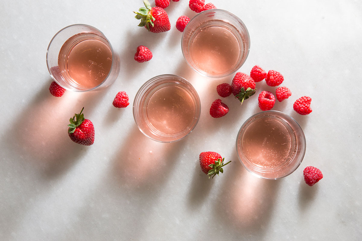 Celebrate the rosé way this Valentine's