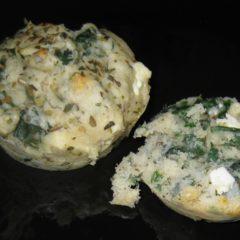 Spinach Feta Oregano Scones
