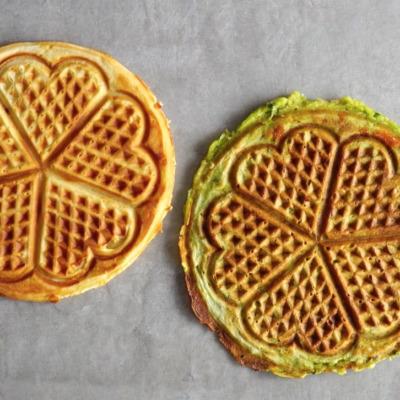 Watch: 2 ways with waffles