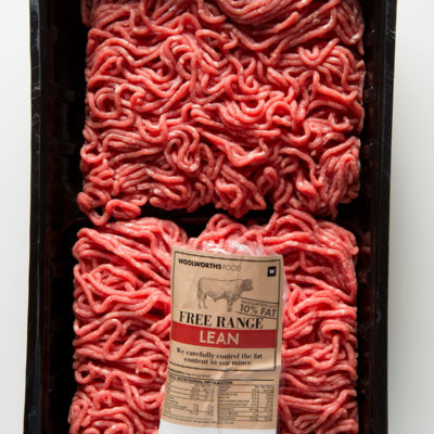 Beef mince product