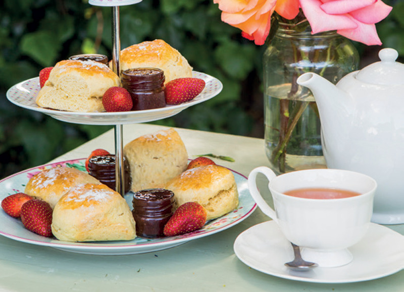 Restaurants in Cape Town southern suburbs: Scones at Chart Farm