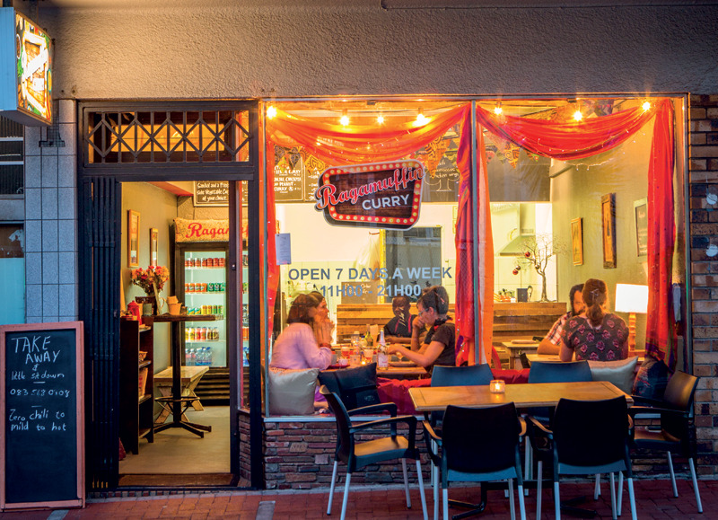 Restaurants in Cape Town's southern suburbs: Ragamuffin