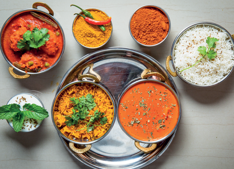 Restaurants in Cape Town's southern suburbs:  Maharajah
