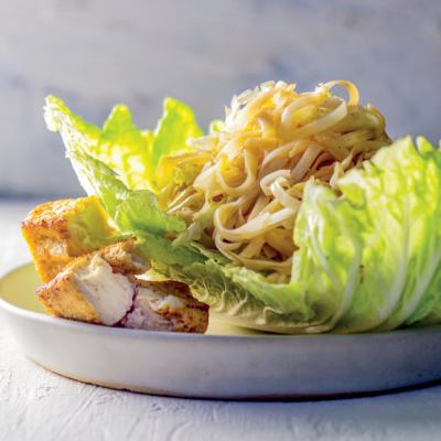 Asian-style noodle slaw
