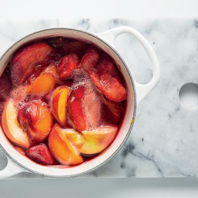 Roast Flavourburst stone fruit tray jam
