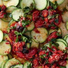 Marinated marrow salad