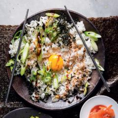 Tamago gohan (egg rice)