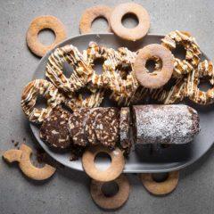 Decadent doughnut cookies