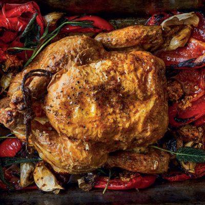 The perfect crispy chicken