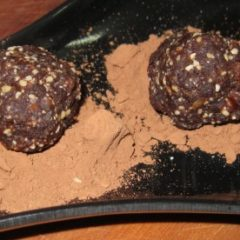 Salted Citrus Cacao energy balls