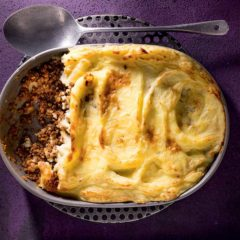 Spiced lamb-and-potato pie
