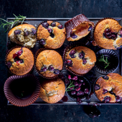 Watch: big batch berry-and-coconut muffins