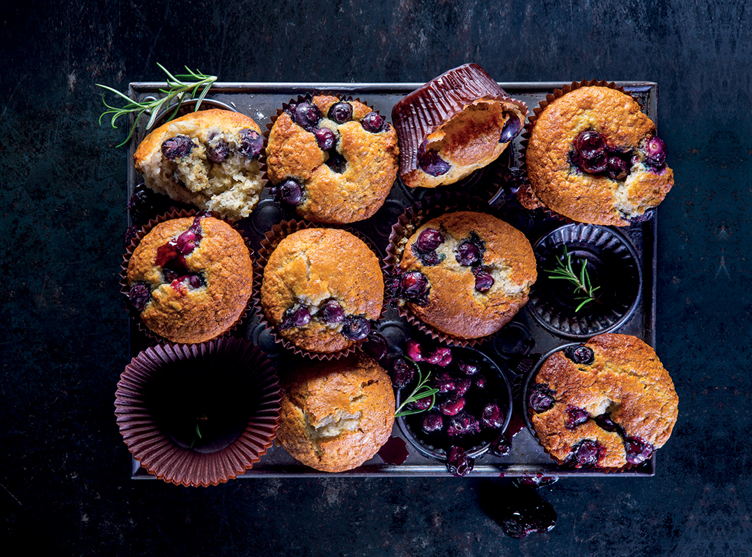 Best recipes: blueberry muffins