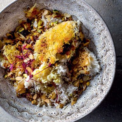 Persian jewelled rice