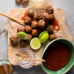 Spicy boerewors bites