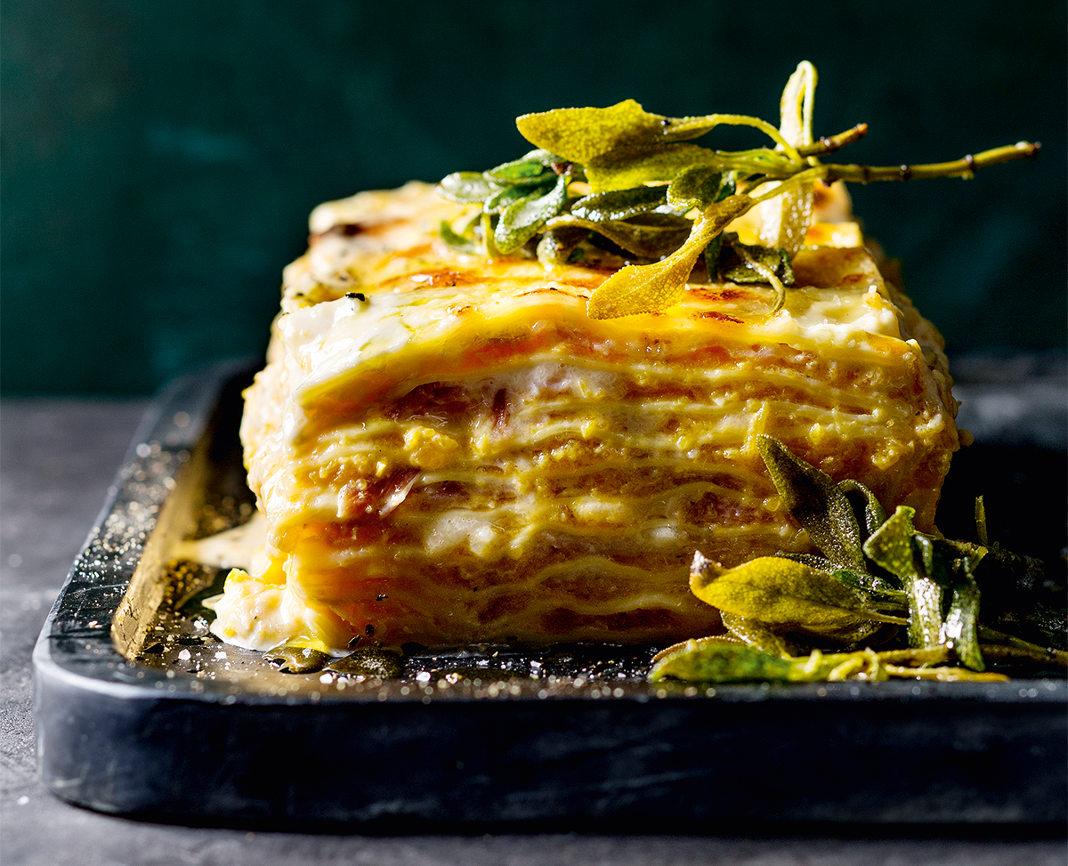 Best recipes: butternut lasagne