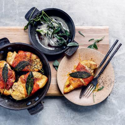 Sage-and-Parma ham saltimbocca