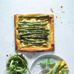 Watch: easy asparagus-and-feta tart