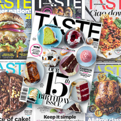 A new way to receive your TASTE Magazine!