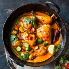 Nico Panagio's Thai chicken potjie