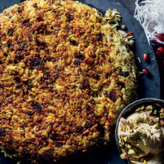 Persian-style rice and lentils