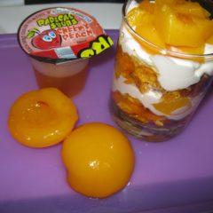 Peach Sours Trifle
