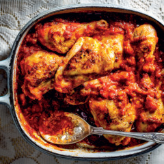 Tomato bredie with chicken