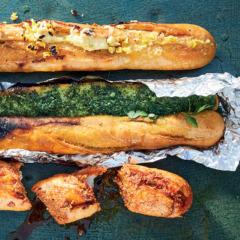 Garlic bread three ways