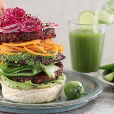 7 steps to building the best plant-based burger
