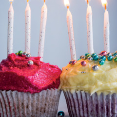 Any-colour-you-like velvet cupcakes