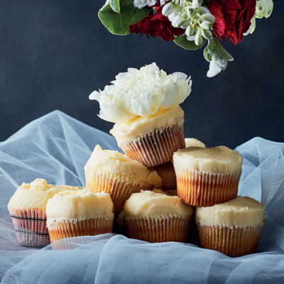 Cupcakes with whipped buttercream