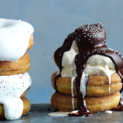 Watch: crazy good party doughnuts