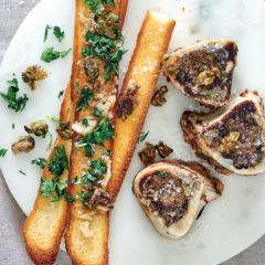 Bone marrow on toast
