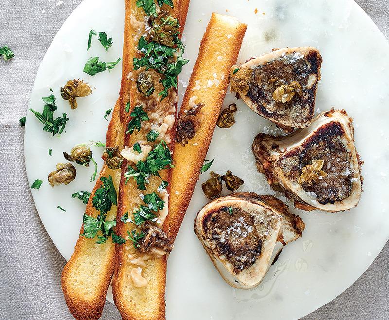 Bone marrow on toast | Woolworths TASTE