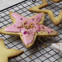 Easy-peasy shortbread biscuits