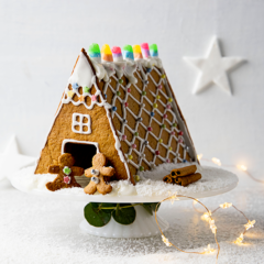 Watch: how to make an easy gingerbread house