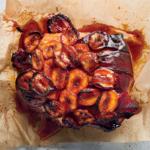 Glazed roast gammon for Christmas