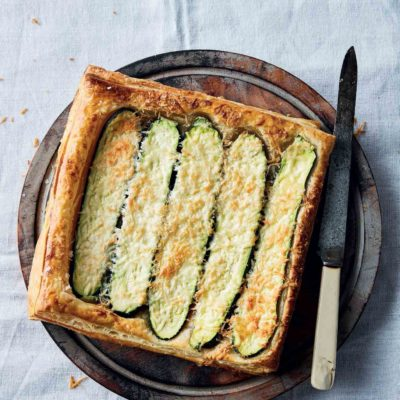 Baby marrow tart