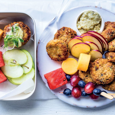 Siba's lunchbox-friendly fish cakes