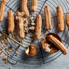 Cheat's almond churros