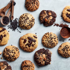 Choc-chip cookies 3 ways