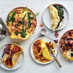 1 omelette, 5 ways