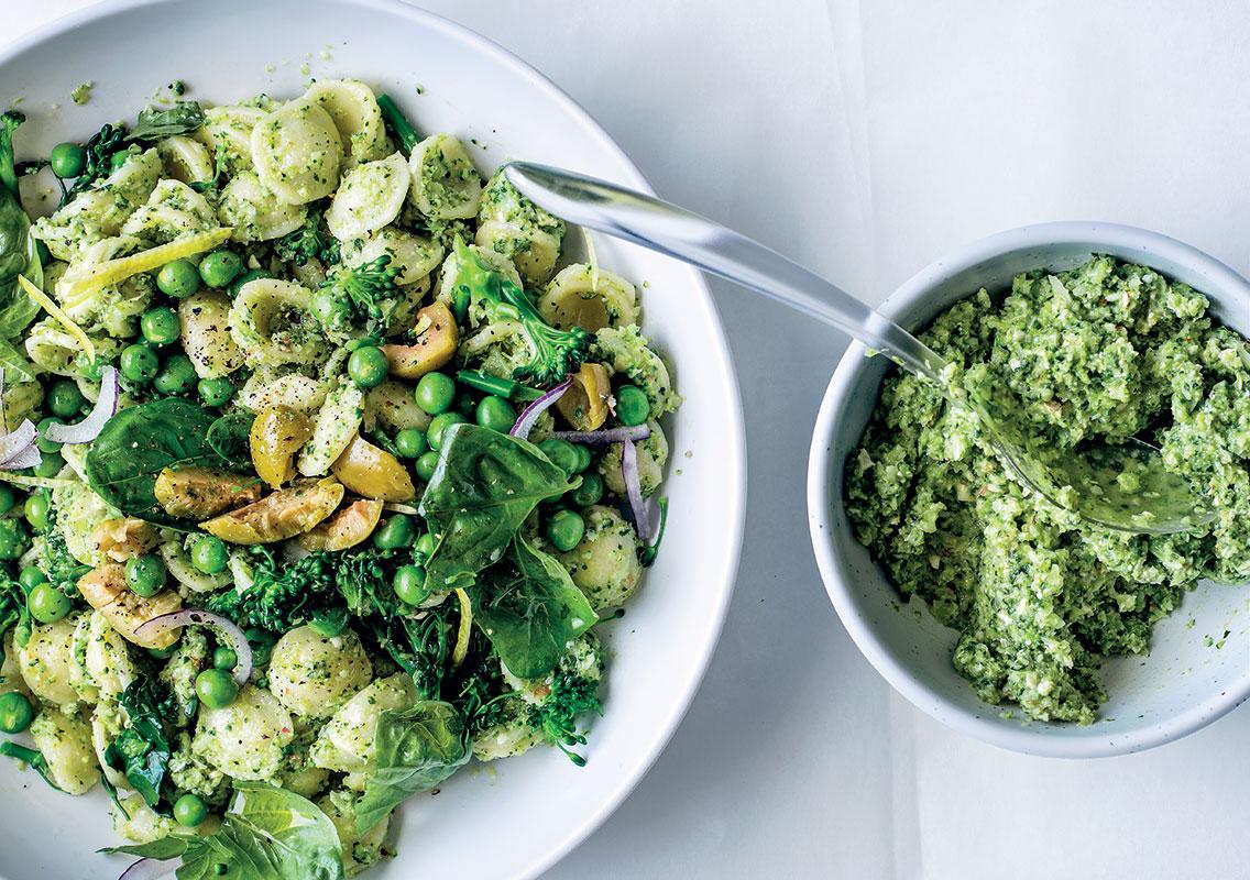 Broccoli Pesto Pasta Woolworths Taste