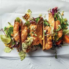 Crowd-pleasing crispy fish tacos